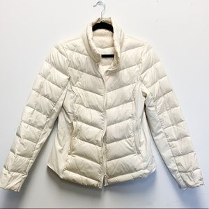ALO off white puffer jacket